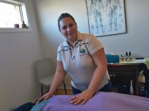 Michelle Love in treatment